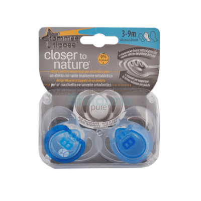 chupete pure 3-9m tommee tippee